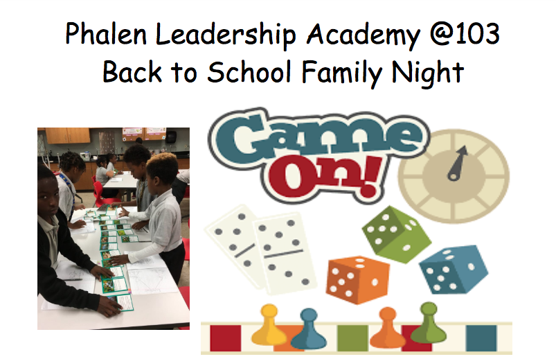 Back to School Family Night Poster