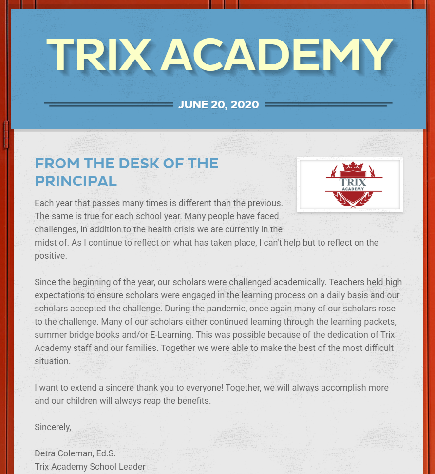 Phalen Leadership Academies at Trix