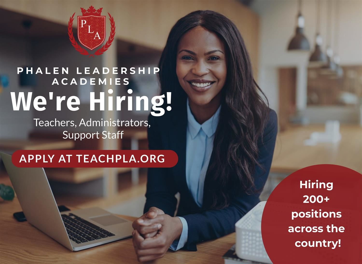 Phalen Leadership Academies Now Hiring