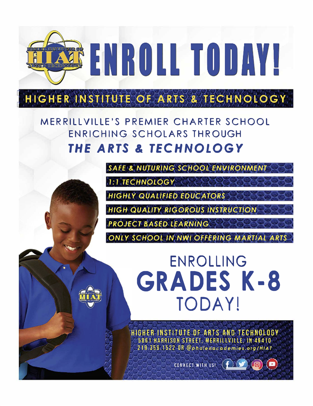 HIAT Enrollment Flyer