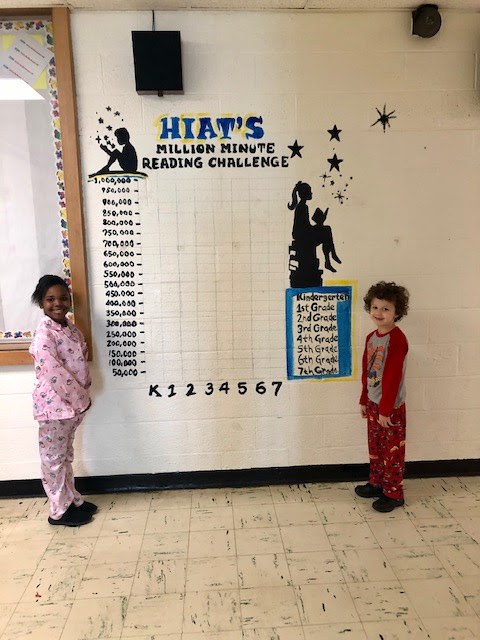 HIAT Launches Reading Challenge