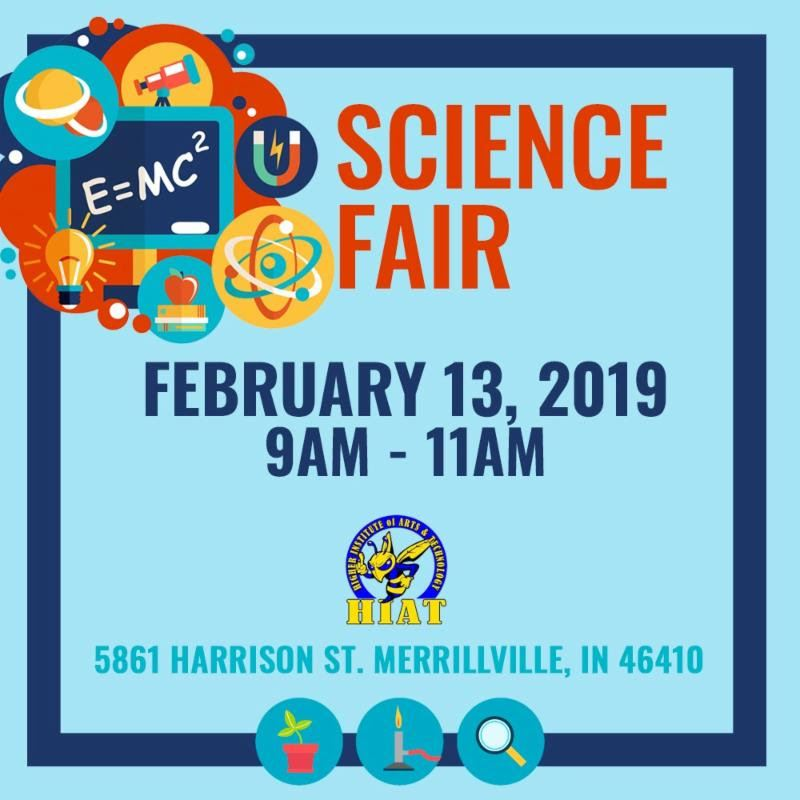 HIAT Science Fair Flyer