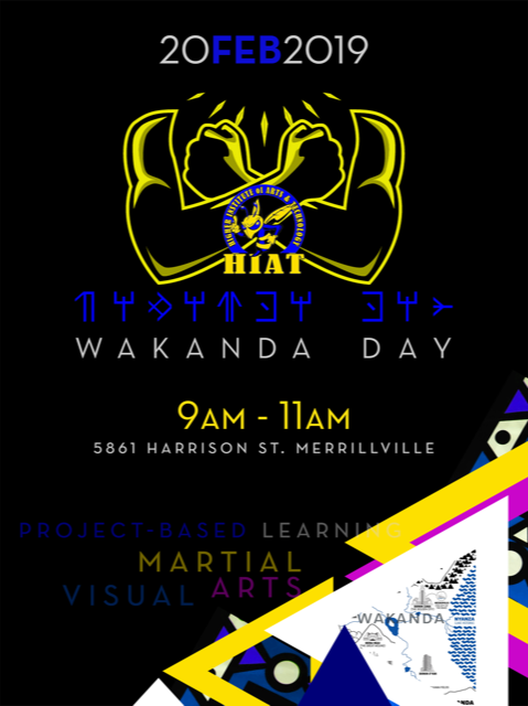 Wakanda Day Flyer