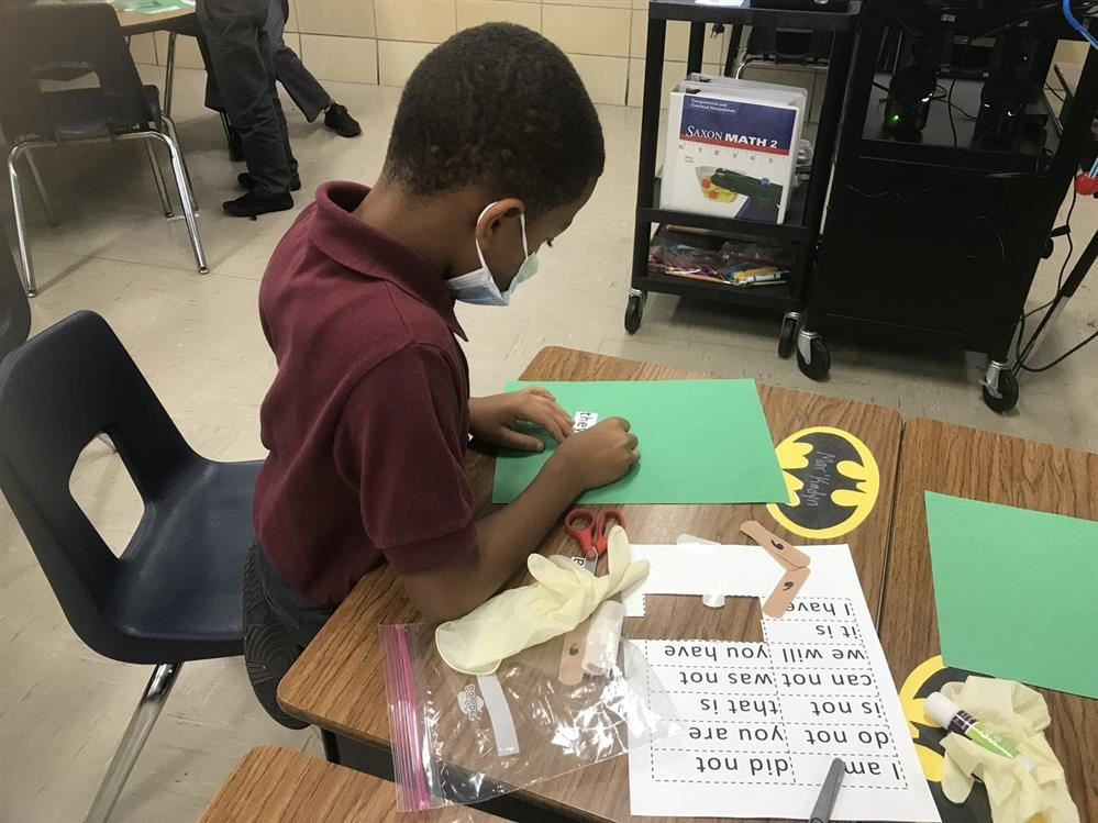 Thea Bowman 2nd Grade Surgeons: Operating on Words