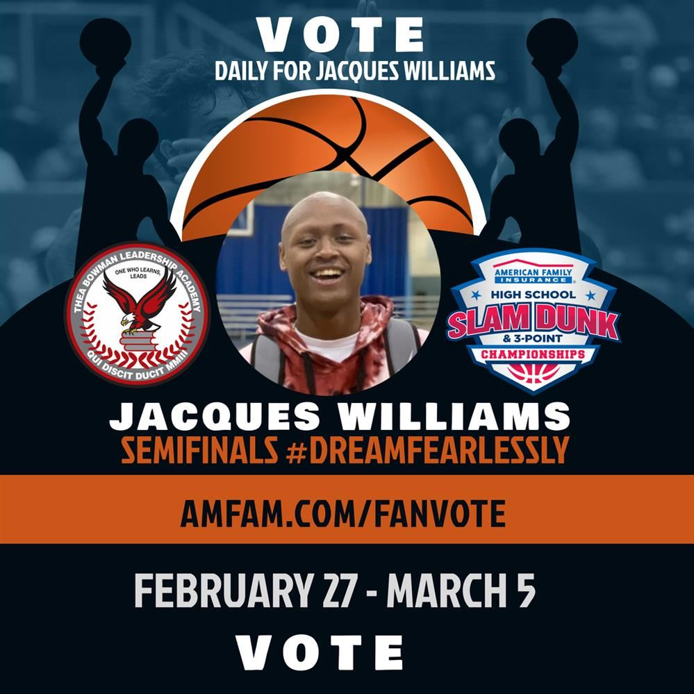 Thea Bowman Leadership Academy Jacques WIlliams