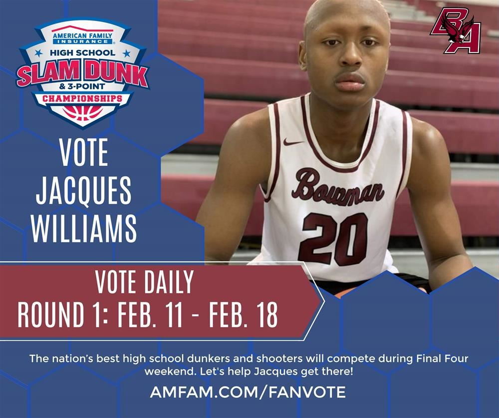 Vote Today to Help Gary Scholar Enter the High School Dunkers and Shooters Competition During Final Four Weekend.