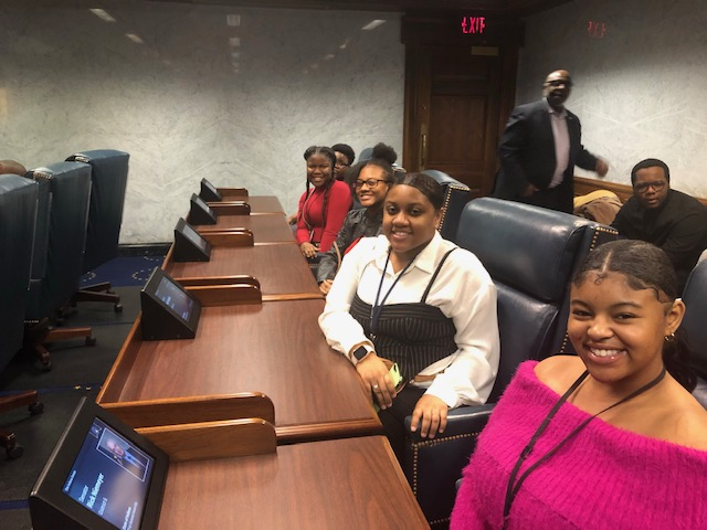 TBLA Scholars Experience a Day in the Life of an Indiana Senator