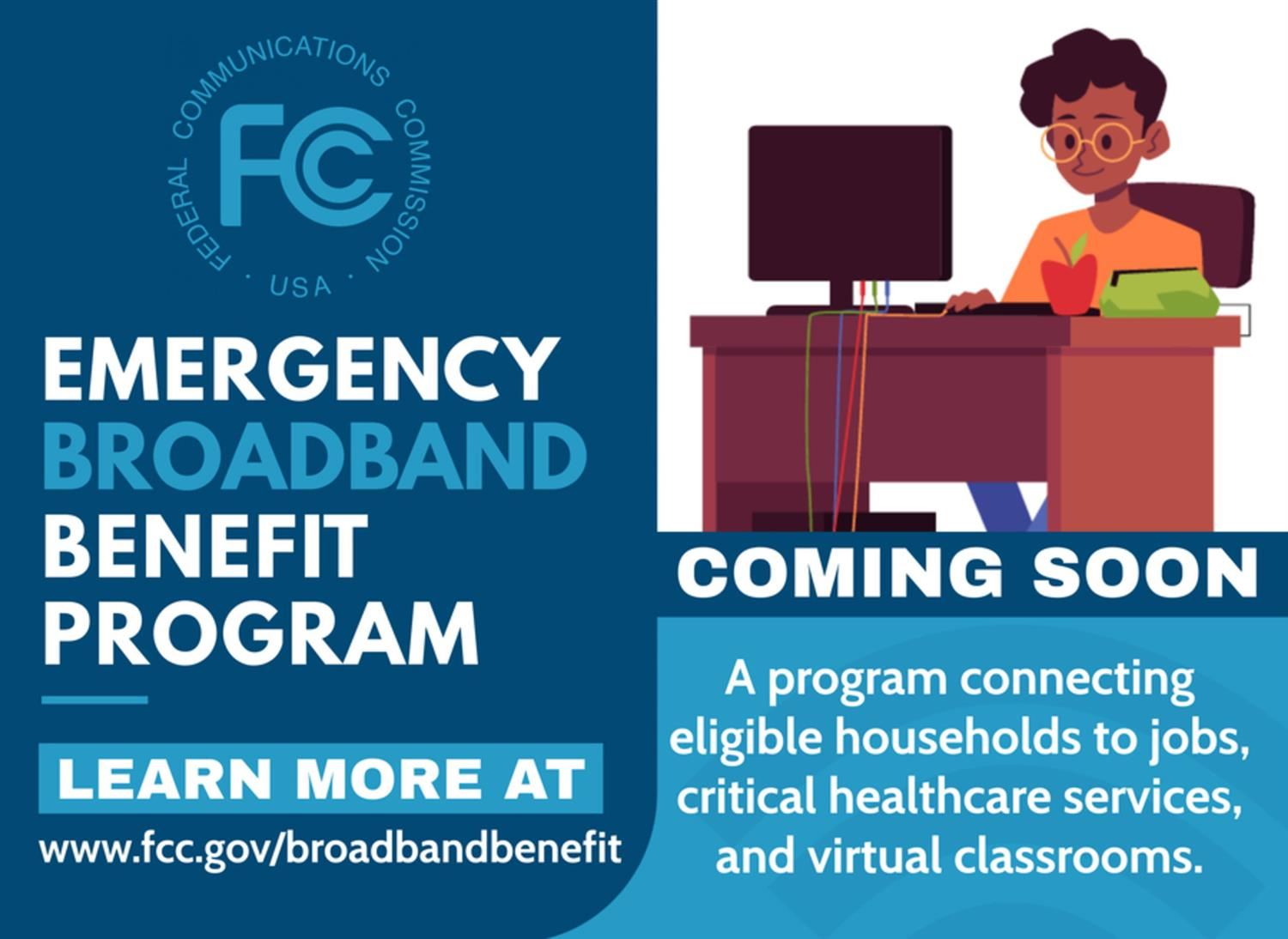 Main Preparatory FCC's Emergency Broadband Benefit Program