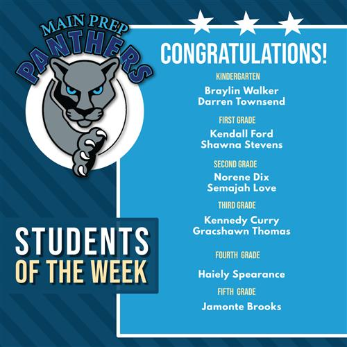 Main Prep Panthers of the Week March 30