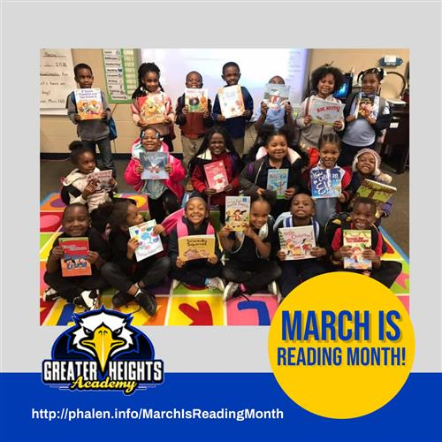 Greater Heights Reading Month