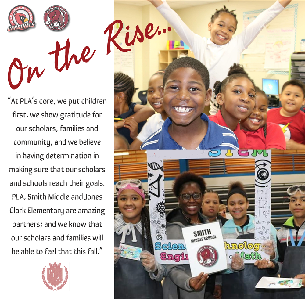 Jones-Clark Elementary and Smith Middle School Are On The Rise!