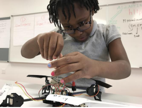 Elementary Students Build Drones, Mobile Apps, and Excitement for STEM