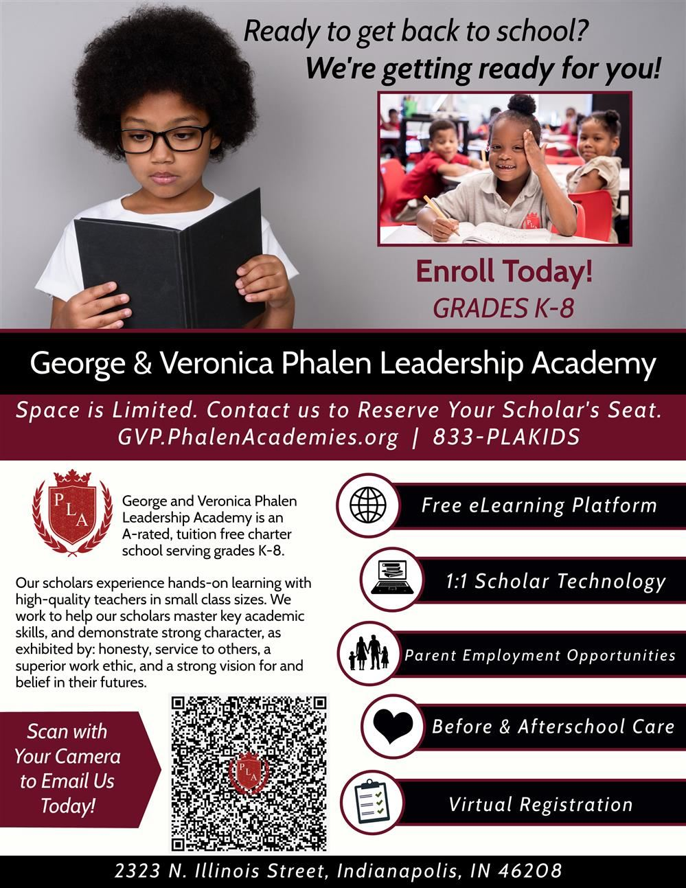 George and Veronica Phalen Leadership Academies