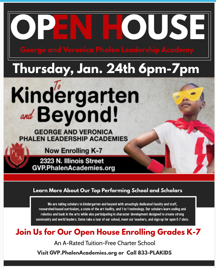 GVP Open House Enrollment Flyer