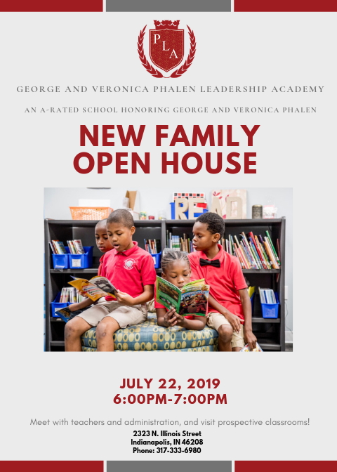 New Family Open House