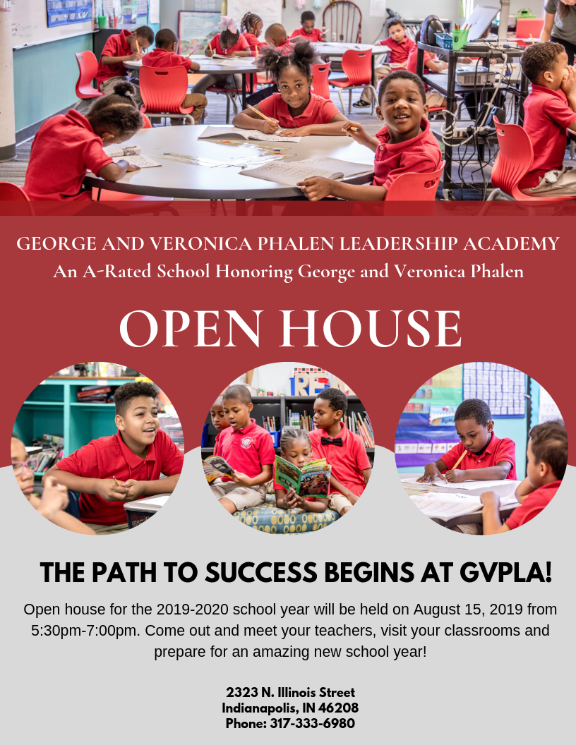 You're Invited! Join Us At Our Open House On August 15, 2019 from 5:30pm-7:00pm!