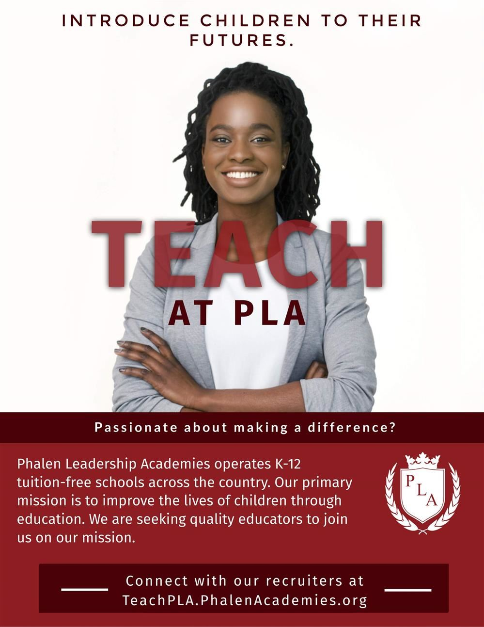 Teach at Phalen Leadership Academies