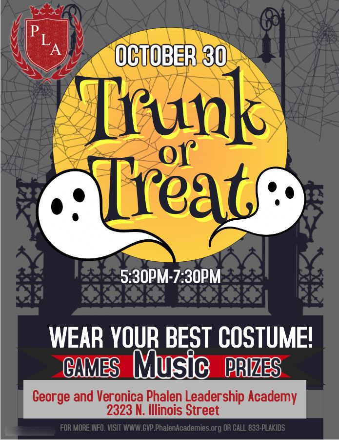 Trunk-or-Treat Event Flyer