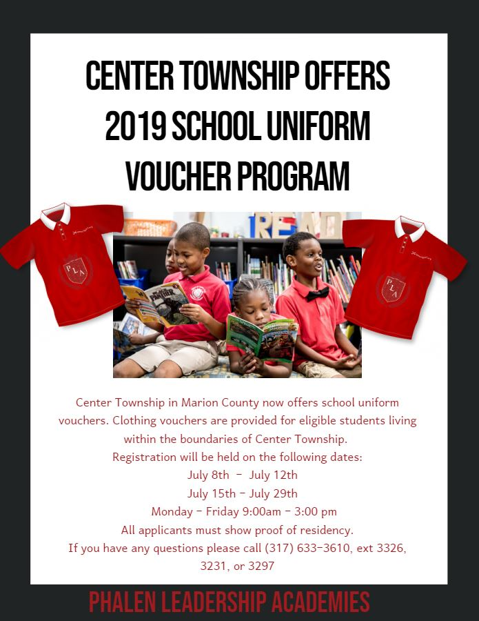 Uniform Assistance at George and Veronica Phalen Leadership Academy