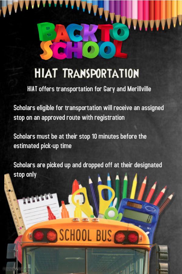 HIAT Transportation Flyer