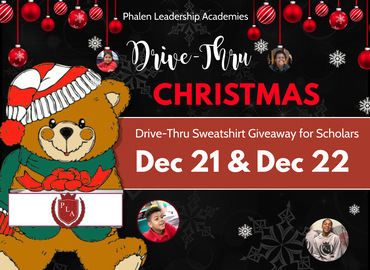 Drive Thru Christmas at James and Rosemary Phalen Leadership Academy