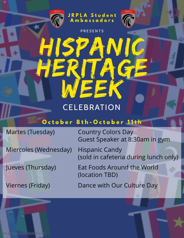 JRP Launched  Celebrations of  Hispanic Heritage