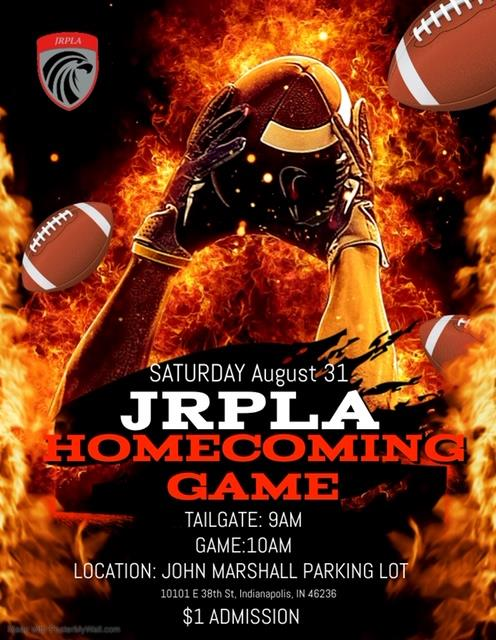 JRP Homecoming game